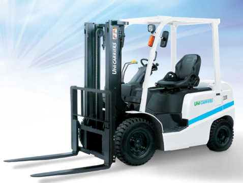 2 5t diesel powered forklift myanmar kinan construction machinery